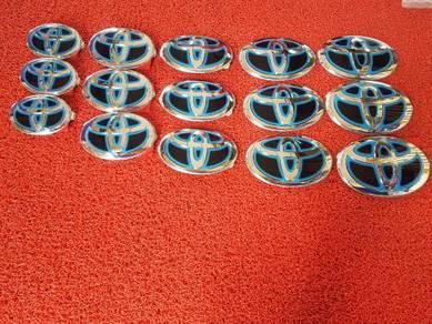 Toyota wish vios camry altis estima emblem logo