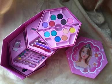 46 pcs Cartoon Colouring Gift Set Barbie
