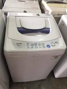 Toshiba 7kg washing machine top load automatic