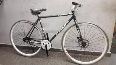 700c fixie bicycle double brake d/brake rd Comp