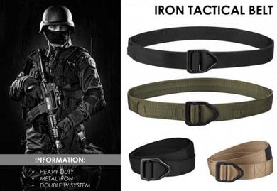 Iron Tactical Belt / Tali Pinggang Taktikal