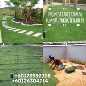 Promosi termurah pakej tanam rumput / pokok a18