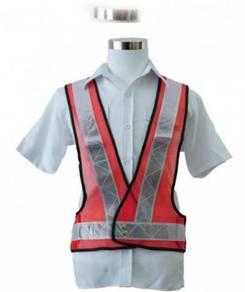 Safety vest v series netting