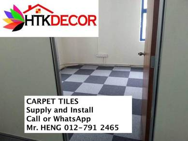 New Carpet Tile - with install 32PT