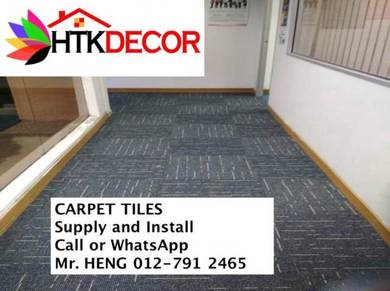 Carpet Tile - with install 22NO