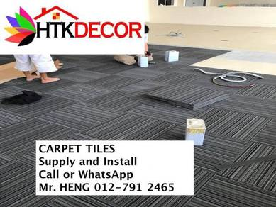 Office Carpet Tile - with install 36XT