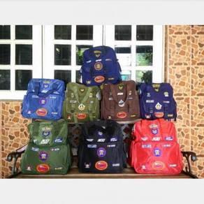 School Bag Beg Sekolah Army NEW bsa levis nike