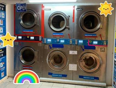 Self Service Laundry in High Density Area, Skudai