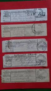 Registration Postal Receipt No 2 RARE