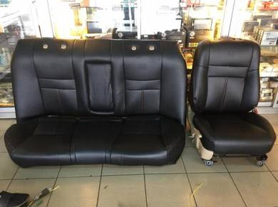 Toyota altis semi leather seat cover