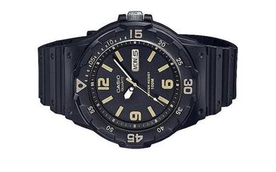 Casio Men Analog Rubber Sports Watch MRW-200H-1B3V