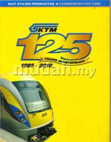 Malaysia Coin Card KTM set