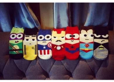Superheroes sock / stokin superhero 08