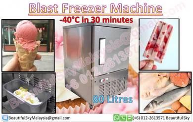 Blast Shock Freezer Mesin Icecream Chiller Aiskrim