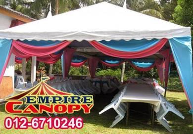 Sewa canopy - pakej : ekonomi 1 pyramid