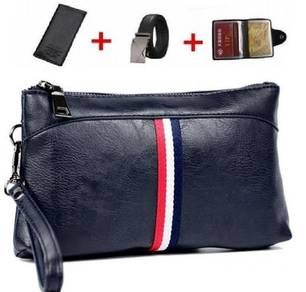 4-In-1 (CLUTCH BAG + WALLET + BELT + CARD HOLDER)