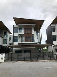 Brand new 3 storey gated and guarded furnished detached house for sale