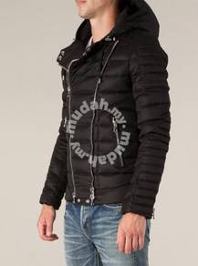 Balmain Homme 14FW hooded cotton jacket