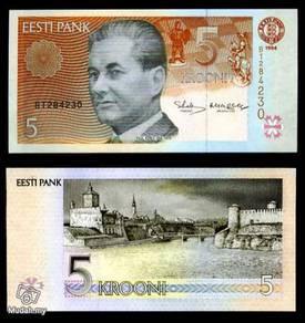 Estonia 5 krooni unc
