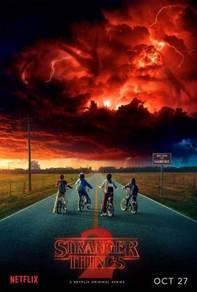 Poster Stranger Things Season 2 Poster Netflix TV