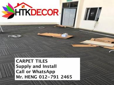 New Carpet Tile - With Installation 33FG