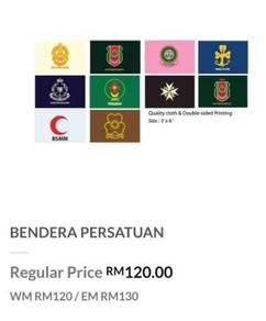 [NEW] Bendera Persatuan - Tunas Puteri