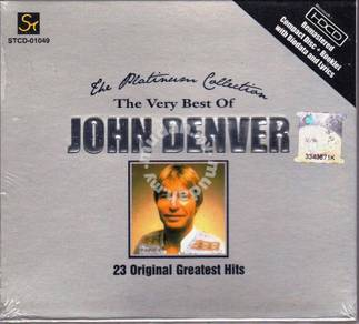 CD JOHN DENVER Platinum Collection HDCD Mastering