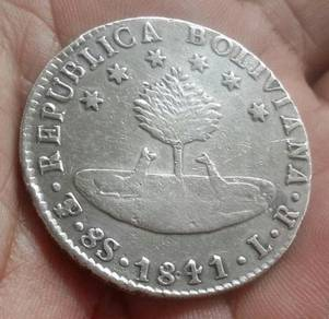 Republica Boliviana 8s 1841