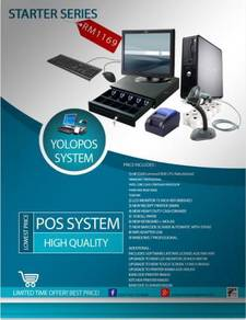 POS System / Mesin Cashier Point of Sales Perlis