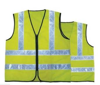 Custom Made Safety Vest with Reflective