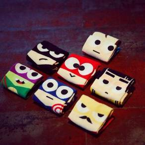 Superheroes sock / stokin superhero 03