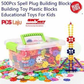 Snowflake Spell Plug Building Blocks