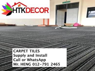 Simple Plain Carpet Tile With Install 66TA