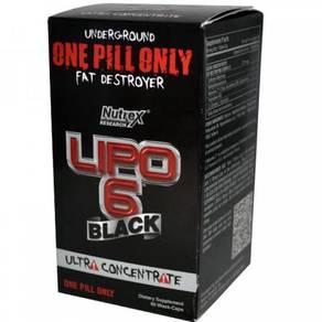 Lipo 6 black ultra concentrate bakar lemak burn fa