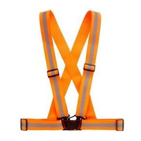 Elastic belt orange
