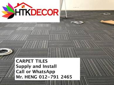 New Carpet Tile - with install 18FG