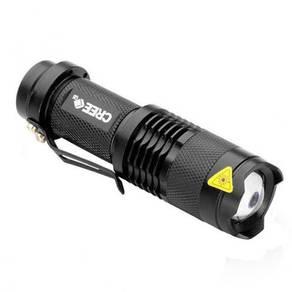 3 Mode Cree Q5 LED Mini Zoomable Flashlight Set