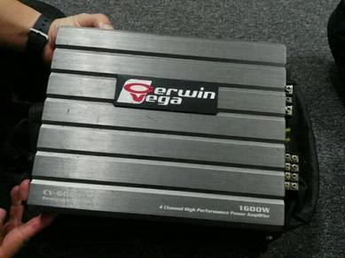 Power m 4channel 1600w