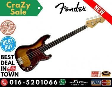 Squier Vintage Modified Fretless Precision Guitar