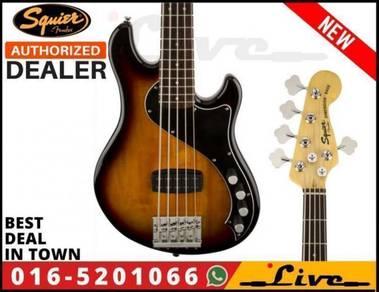 Fender Squier Deluxe Dimension Bass V Guitar