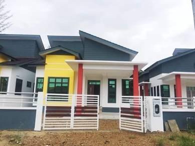 Taman Hamzah Kayangan Bebas Banjir Bandar Machang, lokasi Strategik