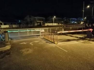 Led barrier gate boom gate