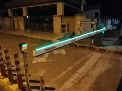 Boom gate led barrier gate