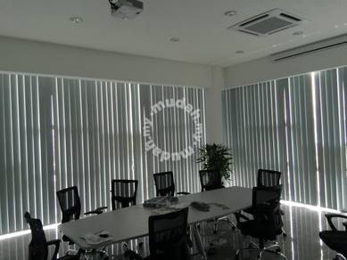Black-out Vertical Blinds pejabat Tirai