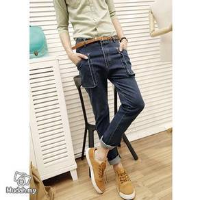 British style male jeans long pants