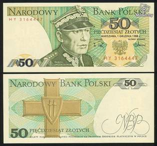 POLAND 50 zlotych UNC