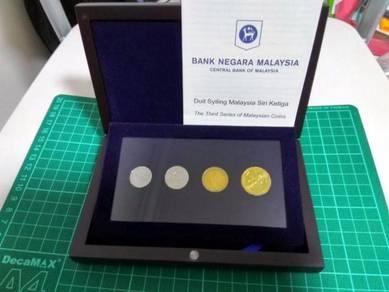 Malaysia 3rd series coin set 2011
