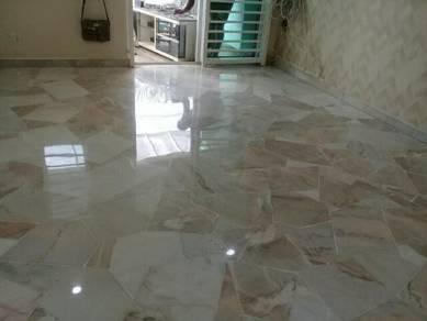 Marble terrazzo polish and parquet polish