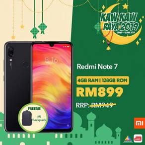 XIAOMI REDMI Note 7 (128GB ROM)ORI + FREE BACKPACK