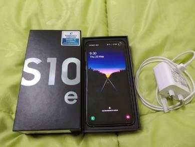 Samsung S10e White Prism Complete set